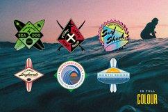 Retro Surf Logo Templates Product Image 2