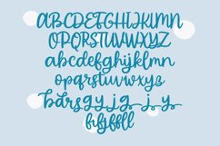 Bubble Bingo - Handwritten Script Font Product Image 3