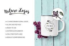 Nature & floral logos + BONUS Product Image 2