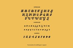 Web Font Beglade Font Product Image 3