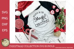 Believe in the magic of Christmas design, Christmas cut file