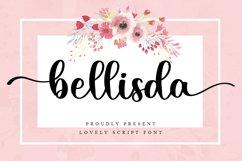 Bellisda - Lovely Script Font Product Image 1
