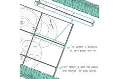 Frog PDF Plush Pattern Resizing Product Image 5
