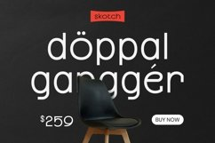 Web Font Benza Font Product Image 3