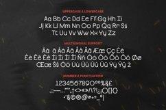 Web Font Benza Font Product Image 4