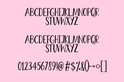 Bertie - a quirky handwritten font Product Image 3