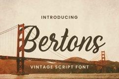 Web Font Bertons Font Product Image 1
