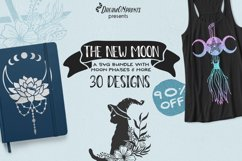 Best Sellers Witch Bundle SVG | Halloween Stickers Bundle Product Image 2