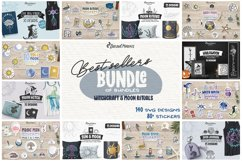 Best Sellers Witch Bundle SVG | Halloween Stickers Bundle Product Image 1