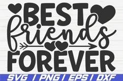 Best Friends Forever SVG / Cut File / Cricut Product Image 1
