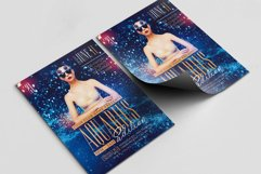 Aquarius Edition A4 Flyer PSD Template Product Image 2