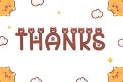 Cat Meow - Cute Display Font Product Image 6