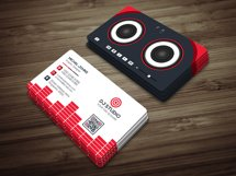 DJ Studio Business Card Product Image 3