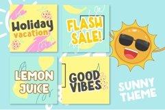 Hello Sunny Fun & Bold Typeface Product Image 5