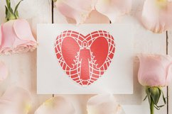 Paper cut | Layered papercut | Angel in Heart Product Image 2