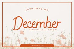 December - Sophisticated Monogram Font Product Image 2