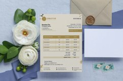 Event Styling Invoice template, 4 Styles Canva Template Product Image 4