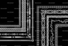 Silver Decorative Frames Clipart Product Image 2