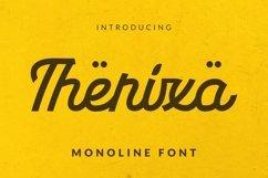 Web Font Therixa Font Product Image 1