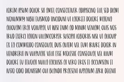 BURGER & FRIES Playful Brush Font Product Image 3
