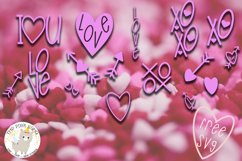 LoveFest A Cute Heart Font Product Image 2