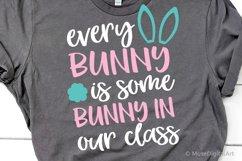Easter Teacher Svg, Kids Easter Funny Svg Files, Bunny Svg Product Image 1