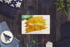 Christmas Watercolor Brushstrokes png,Abstract Christmas Product Image 4
