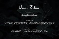 Queen Elena - Script Font Product Image 4