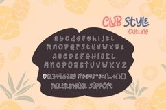 Club Style - 2 Cute Fun Font Product Image 3