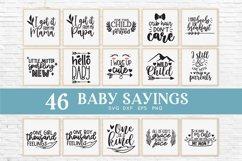 Baby sayings svg bundle - baby onesie svg Product Image 3