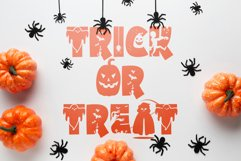 Halloween Party - A Silhouette Display Font Product Image 5