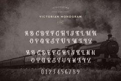 Web Font Victorian Monogram Font Product Image 4