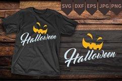 Pumpkin jack o lantern Halloween SVG instant download Product Image 2