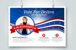 4 Horizontal Election Voting Flyers Bundle Product Image 2