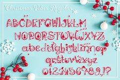 Christmas Font   Christmas Split Monogram Font Product Image 5