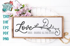 Funny Love Farmhouse SVG Product Image 1