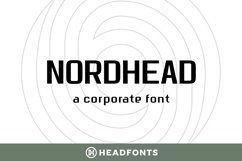 Nordhead Business & Corporate Font Product Image 1