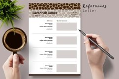 Animal Care Resume Template for Word & Pages Savannah James Product Image 6