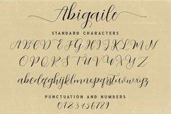 Abigaile Script Font Product Image 6