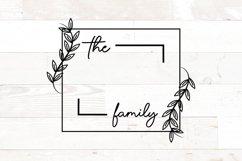 Vol 2 - Family Monogram Sign Bundle Floral Product Image 3