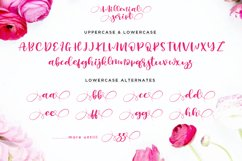Millenial Script Modern Calligraphy Product Image 2
