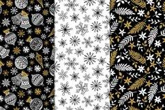 12 Christmas Seamless Patterns Product Image 5