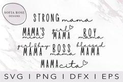 Mama SVG Bundle, Mom SVG Bundle, Mom Life Svg Bundle Product Image 1