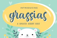 Grassias Sooth Script Product Image 1