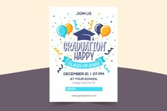 Happy Graduation - Funny Condensed Font with Shadow Product Image 2