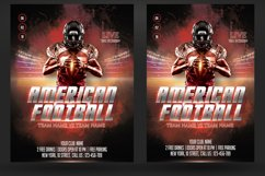 American Football Flyer And Poster Product Image 2