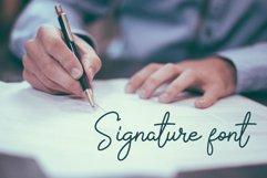 The Signate - a stylish signature font Product Image 2