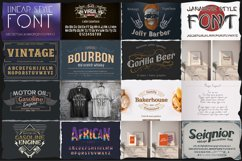 Big fonts bundle Product Image 4