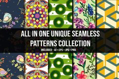 All in One Unique Seamless Patterns Collection Product Image 1