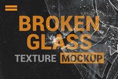 Broken Glass Texture Mockup Product Image 3